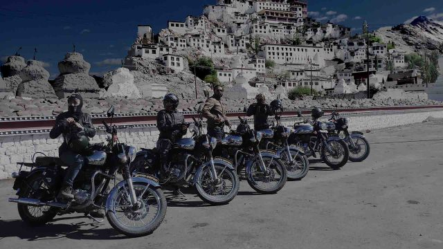 Motorcycle tours in himalayas